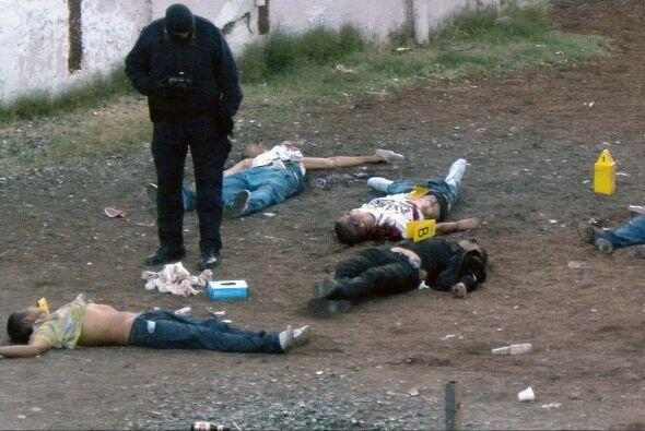 Los asesinatos atribuidos al crimen organizado y el narcotráfico...