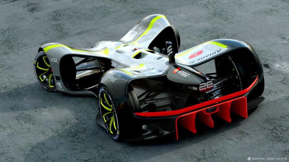 Este es el Robocar: el primer autos de carreras de manejo autónomo MWC17...