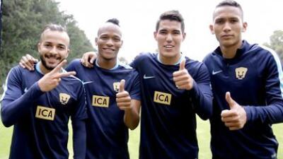 Hibert Ruiz, el chileno Mathias Vidangossy y los colombianos Francisco M...