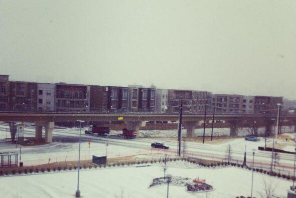 Metroplex se pinto de blanco