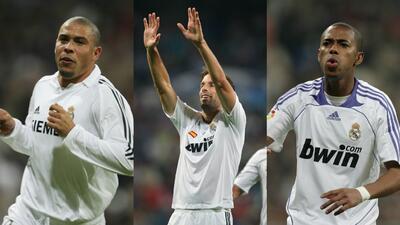 Los 11 delanteros que tuvo Real Madrid antes de Cristiano Ronaldo