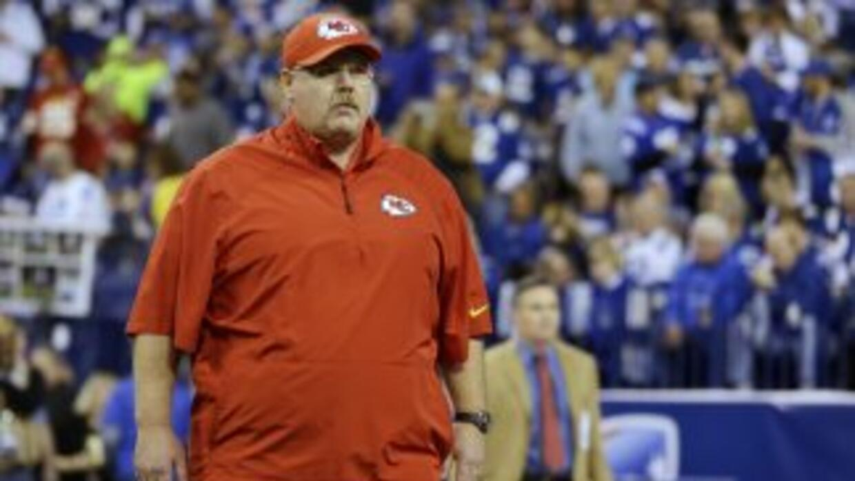 Andy Reid no encontró palabras tras la derrota de Chiefs ante Colts (AP-...