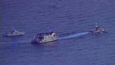 La Guardia Costera busca restos de aeronaves accidentadas en el mar