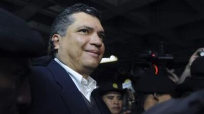 La detención de Gustavo Martínez, yerno de Otto Pérez Molina y quien se...