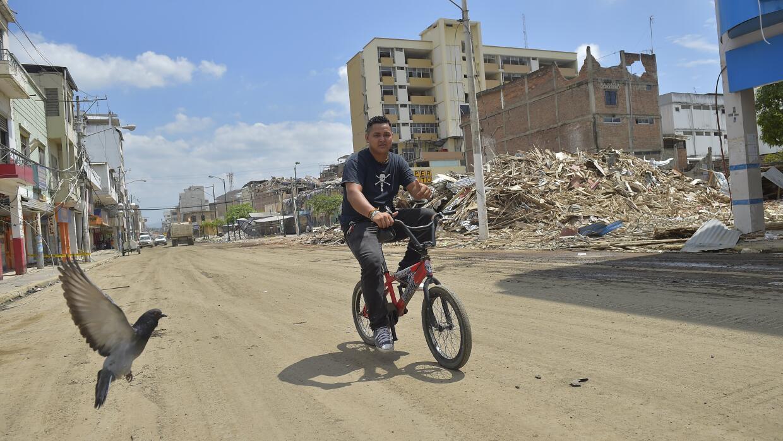 En Portoviejo todavía la devastación es evidente.