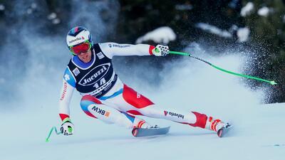 Esquiador que sufrió dura caída sigue intubado, pero sin ninguna lesión grave