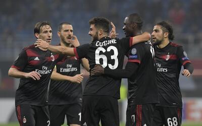 Milan 4-1 Austria Viena: aunque comenzó perdiendo, el equipo 'ros...