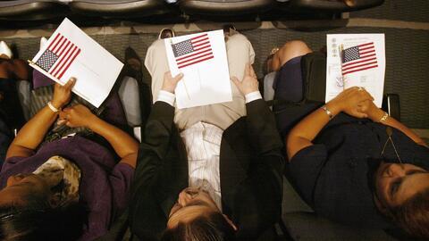 Un taller informativo sobre la solicitud y el proceso para la ciudadanía...