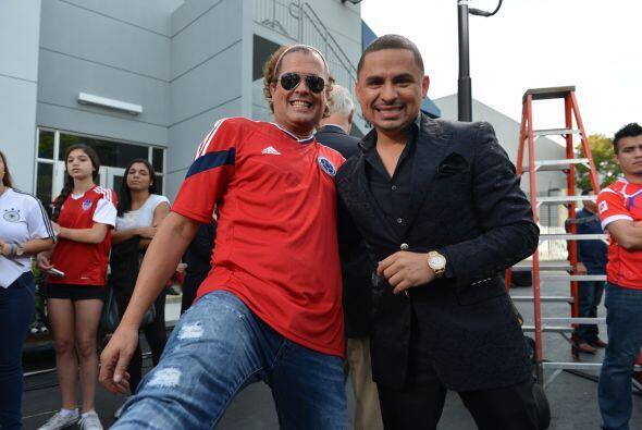 Carlos Vives y Larry Hernández también fueron parte de esta gran fiesta...
