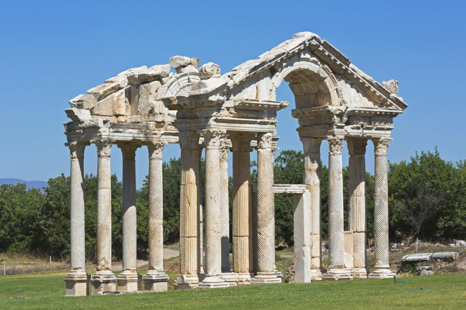 Turkey: Aphrodisias, archeological site and marble quarries