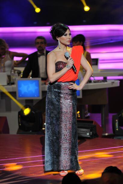 Bianca siguió sorprendiéndonos y cantó por segunda vez durante el show.