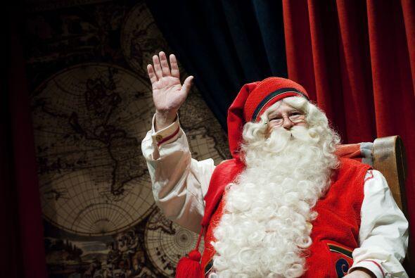 Aquí, San Nicolás aparecía despojado de atuendo obispal y convertido en...