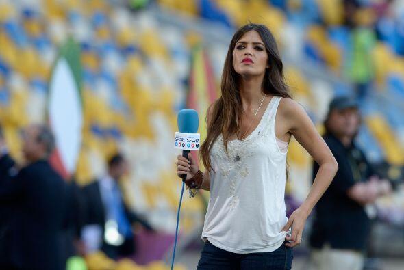 Sara Carbonero es sin duda una de las mujeres más bellas del medio futbo...