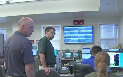 Autoridades de Galveston emitieron una orden de evacuación voluntaria pa...