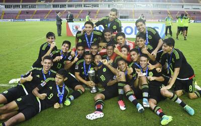 México, campeón del Premundial de Concacaf sub 17