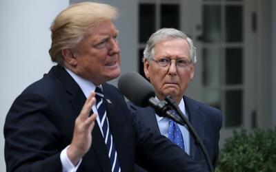 Trump y McConell, otro ejemplo de las curiosas amistades que fuerzan las...
