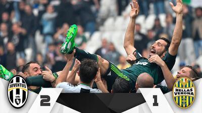 ¡Gracias, Buffon! Gianluigi jugó su último partido con la Juventus