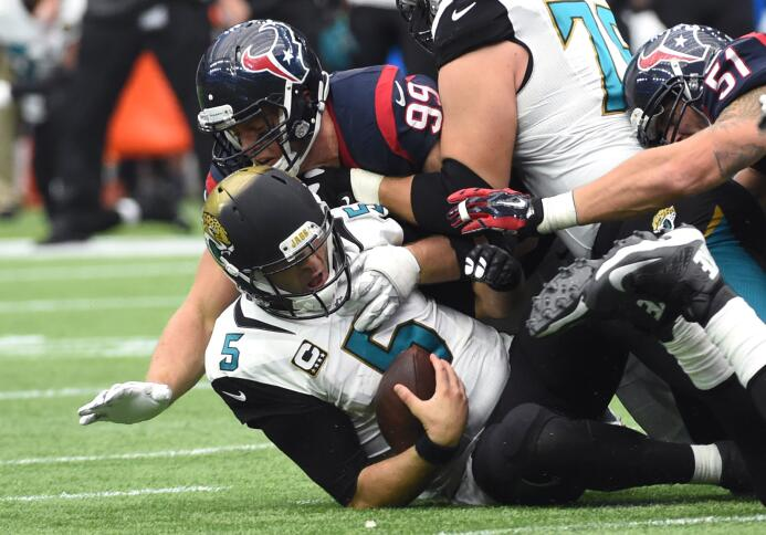 Los Houston Texans vencieron 30-6 a Jacksonville Jaguars para coronarse...