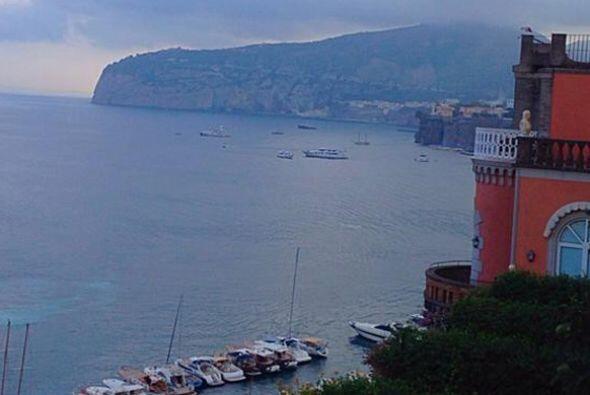 22 de agosto. Karla y Emerson llegando a Italia.