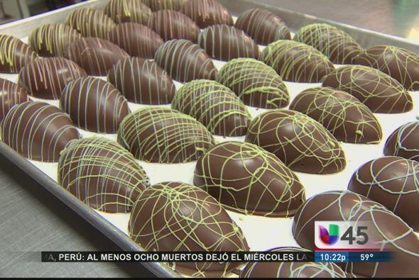 Pascua no es Pascua sin huevos de chocolate, y esta semana conocimos una...