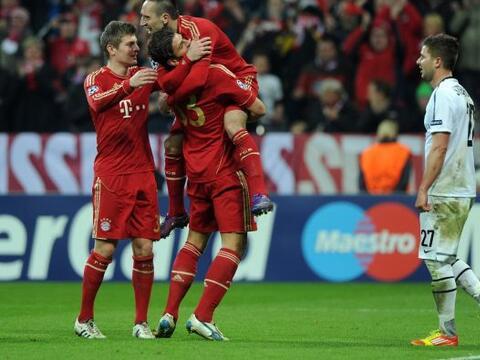 El Bayern Munich demolió al Balisea. El conjunto alemán le...