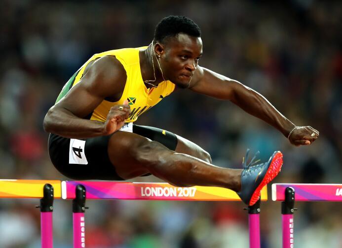 Omar McLeod (Jamaica) / 100 metros Vallas