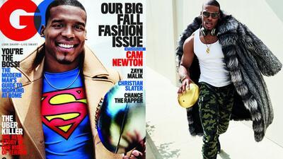 Desde extravagante hasta clásico, el estilo único del QB de los Carolina Panthers, Cam Newton