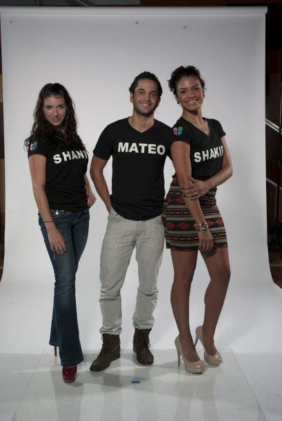 """Shanik es la manzana de la discordia y Mateo y Shakira son """"peace and lo..."""