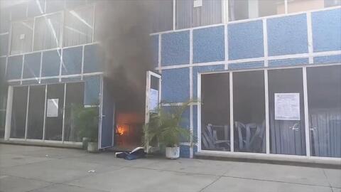 Incendian las oficinas del PAN-Oaxaca tras elección de dirigente estatal