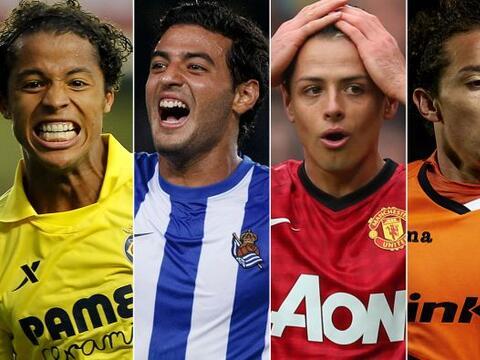 Un 2013 lleno de altibajos fue el que vivieron los futbolistas mexicanos...