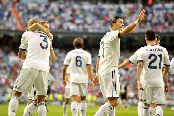 Apenas se jugaba el minuto 26 pero 'CR7' puso el primer gol del duelo.