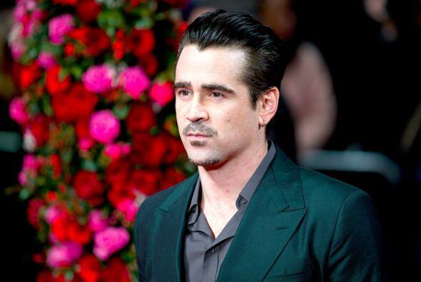 Colin Farrell Colin lleva siete años sobrio, el actor decidió dejar los...