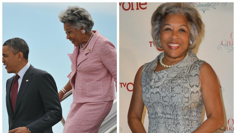 La congresista Joyce Beatty siempre ha lucido muy a la moda en sus apari...