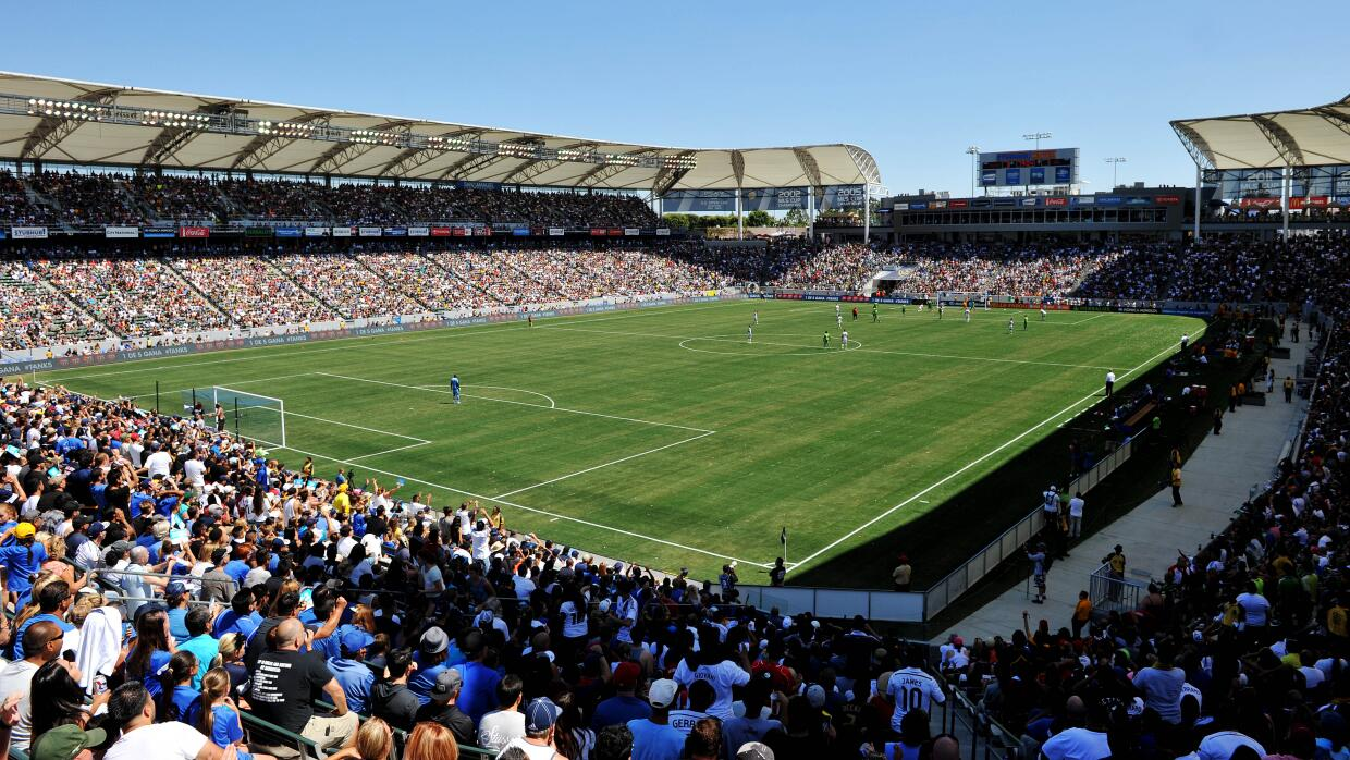 Panorámica del StubHub Center, estadio del LA Galaxy