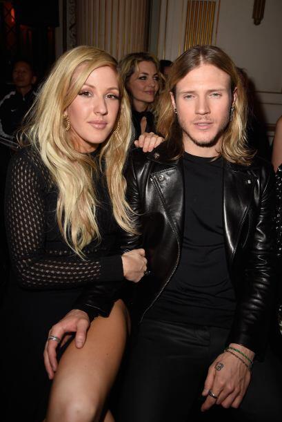 Ellie Goulding y Dougie Poynter estuvieron en primera fila para admirar...