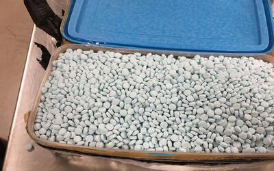 Incautan 30,000 pildoras de fentanilo en Arizona
