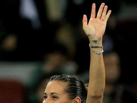 La italiana Flavia Pennetta sigue sorprendiendo y ahora dejó fuer...