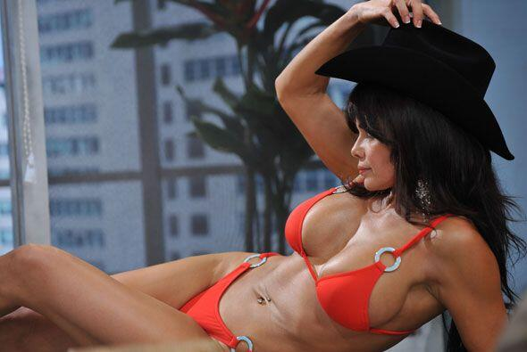 Julie es una de las modelos más sexys