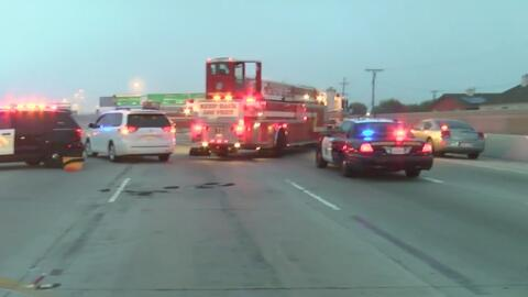 Dos conductores muertos por fuerte accidente en la autopista 5 sur a la...