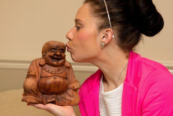 Natalie esta feliz por qué nunca más la van a comparar con Buda y consig...