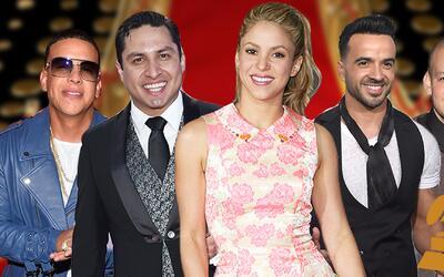 Nominados a GRAMMY 2018: Daddy Yankee, Julión Álvarez, Sha...