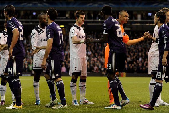Real Madrid enfrentó al Tottenham en el partido revancha por los...