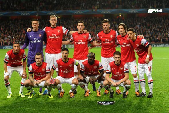 Finalmente, el Arsenal está en el puesto 11, dando un salto de cuatro ca...