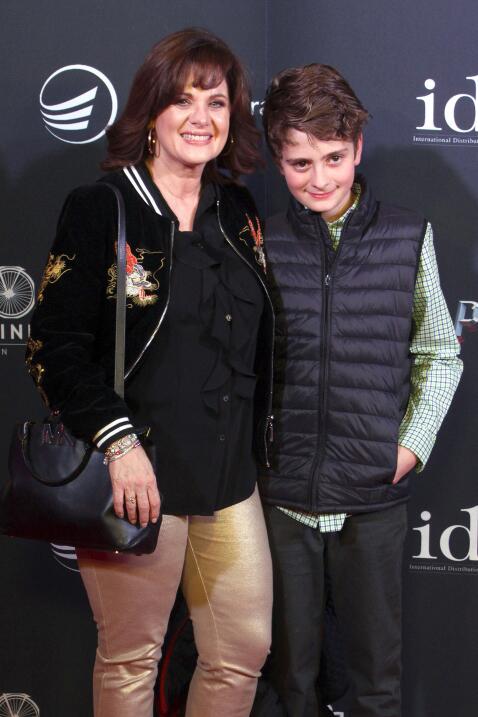 Erika Buenfil y su hijo Nicolás