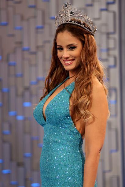para PLNEl equipo de Nuestra Belleza Latina y las participantes fueron i...