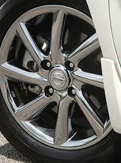 Los rines de alumino de 16 pulgadas son exclusivas del modelo Krom.