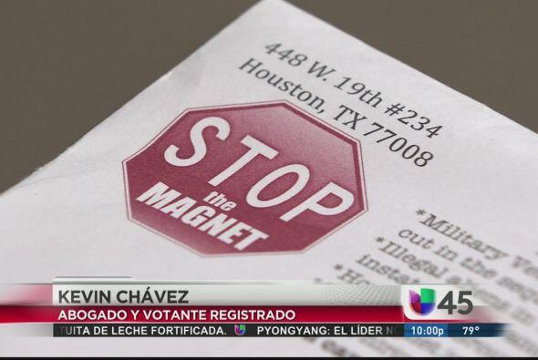 """Mientras eso se cocina en Washington, en Houston un grupo llamado """"Stop..."""