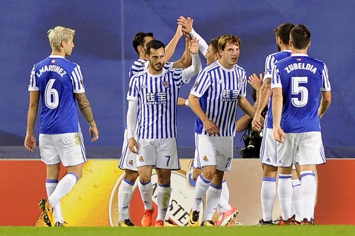 Real Sociedad 3-0 Vardar: la escuadra de San Sebastian escaló al primer...