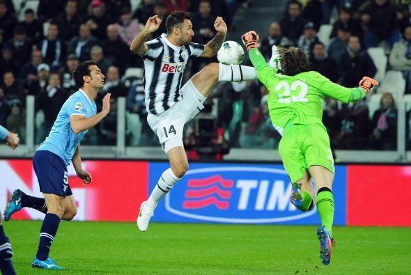 La Juventus recibió a Lazio en su estadio en la fecha 32 de la Se...