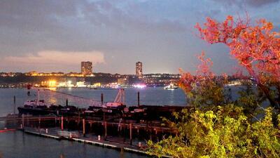 Se estrella en el río Hudson un avión de la II Guerra Mundial